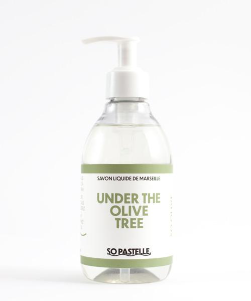 Handseife flüssig aus Olivenöl Naturseife