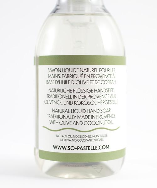 Flüssigseife aus natürlichen Inhaltsstoffen