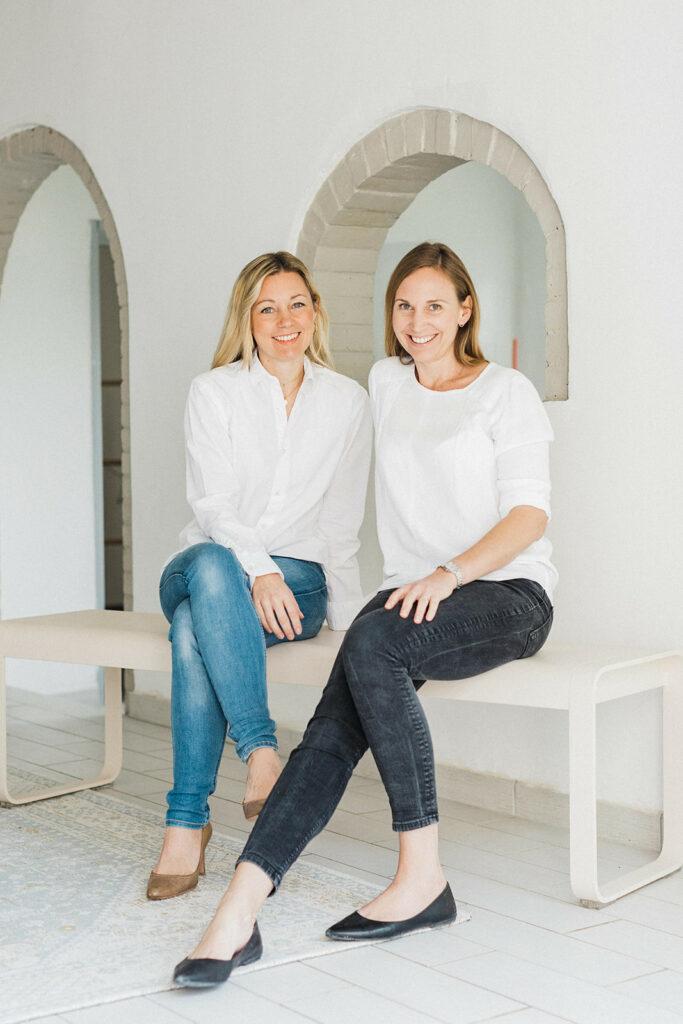 Petra Büttinghaus und Conny Weber Gründerinnen So Pastelle