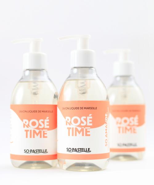 Rosé Time Seifen mit Mandelduft